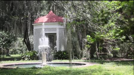 Gazebo and Fountain- Stock