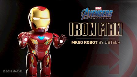 Iron Man MK50 Robot Commercial