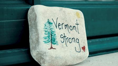 """Community Through Crisis : a Vermont story"" 
