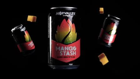 HopValley Brewing | Mango IPA Hero Video