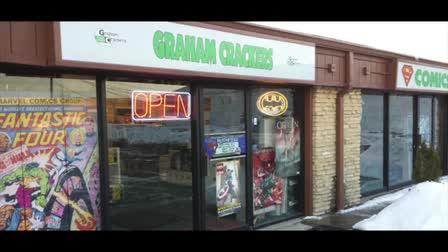 Graham Crackers Comics Promotional Video