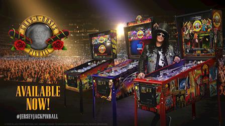 Guns N' Roses Pinball by Jersey Jack Pinball