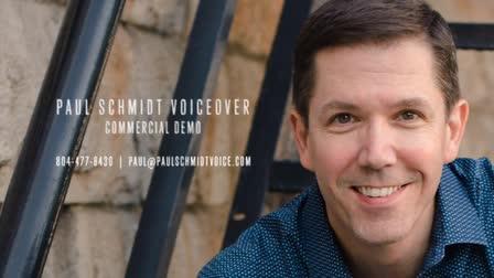 Paul Schmidt Commercials Demo