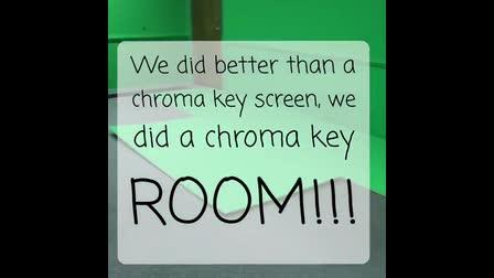 VH2 Chroma Key Room
