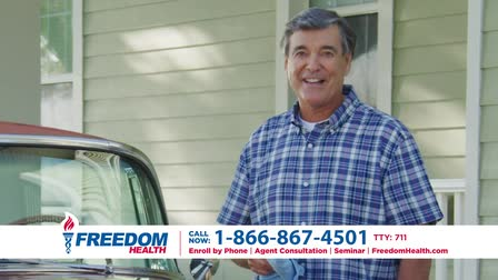 Freedom Health Insurance National Commercial Spot