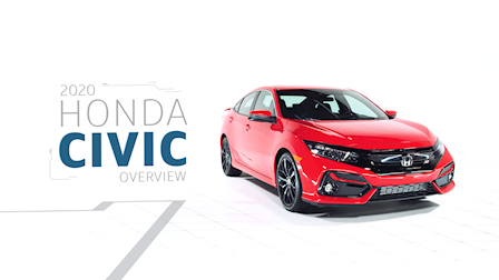 Honda Civic Overview Animation