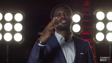 Michael Vick at CAP STUDIOS for Madden NFL