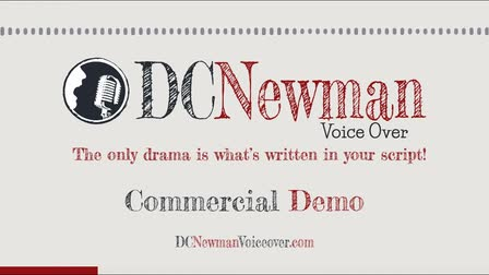 Commercial Voice Over Demo - DC Newman