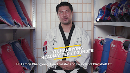 Short 60s Promo Video for Blackbelt Fit - Taekwondo Training Center