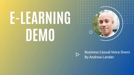 Andrew Lander -- E-Learning Demo