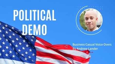 Andrew Lander -- Political Demo (Progressive/Democratic)