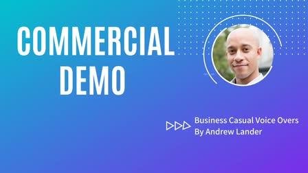 Andrew Lander -- Commercial Demo