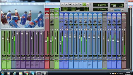 PEPSI TV 30 - Jingle Production (SPANISH)