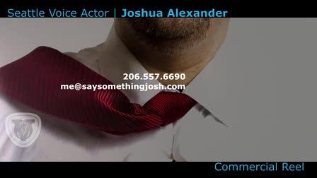 Joshua Alexander Commercial Demo Reel