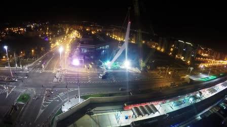 Documentation Video of lifting a bridge