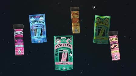 Lost Farm - Animated Cannabis Product Promo Video