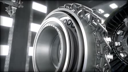 General Electric GE9X Next Gen Engine (Product Demo Animation)