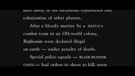 Blade Runner Alt Opening