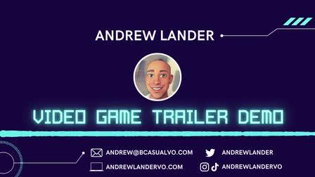 Video Game Trailer Demo