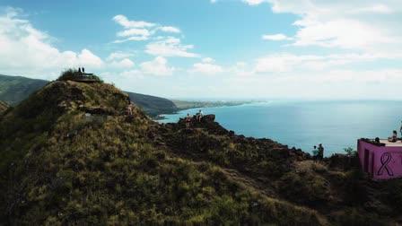 Hawaii - Aerial Footage