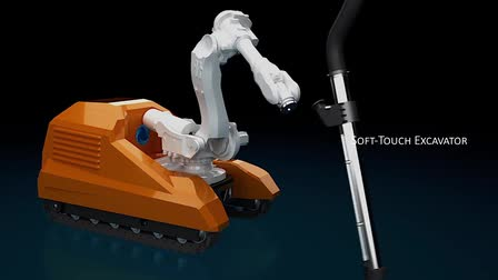 RRES - A cutting, drilling and sucking robot