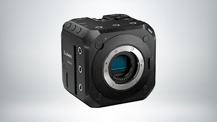 Panasonic Lumix BGH1 Cinema 4K Camera at Cine Gear 2021