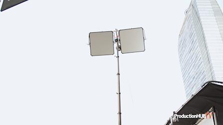 Matthews Studio Equipment Unveils World Largest Grip/Lighting Stand The Matthews Air Climber at Cine Gear 2021