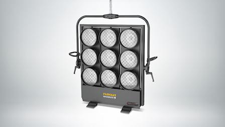 FilmGear Showcases Their RGB Max 1600C Maxibrute 9 Light at Cine Gear 2021