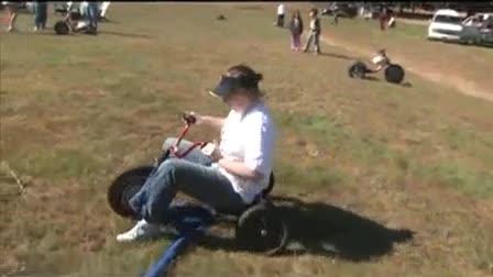 Downhill Trike Race