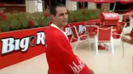 "Wrigley's ""Juan Carlos Montoya - Big Red"""
