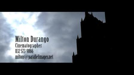 Milton Durango - Demo Reel 2011