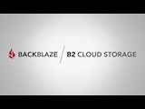 Backblaze talks about their B2 Cloud Storage at NAB NY 2018