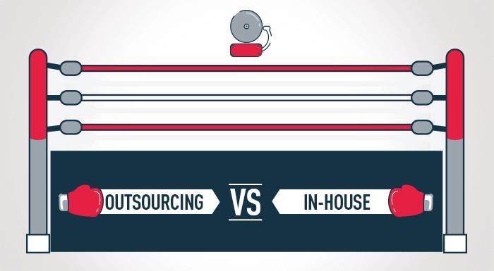 Outsourcing vs. in-house para pymes: ventajas y desventajas que estos dos modelos le pueden traer a tu negocio