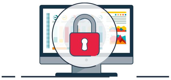 Ilustración bloqueo a ataques informáticos