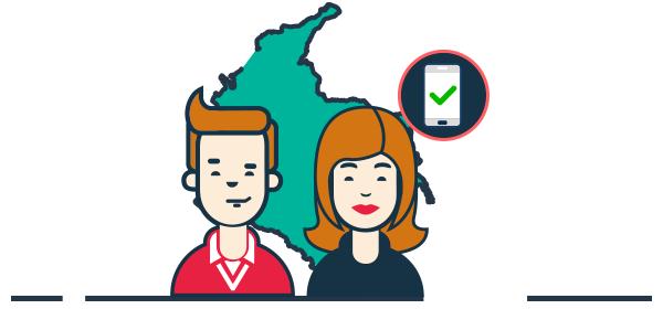 Ilustración clientes fidelizados en Colombia