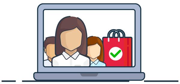 Clientes que retornan en una compra