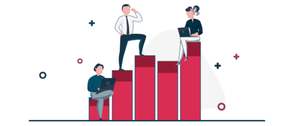 Ilustración de competencia laboral