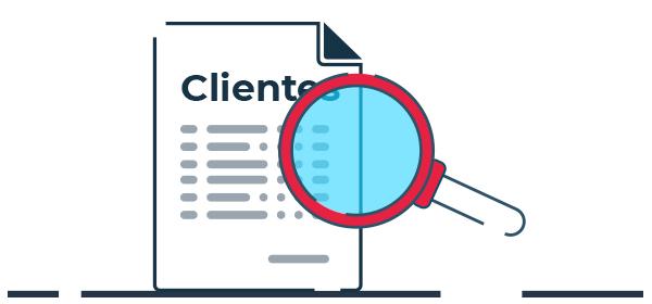 Ilustración manejo legal de datos de clientes