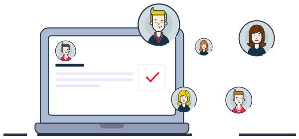 Ilustración obtención de datos de clientes legalmente