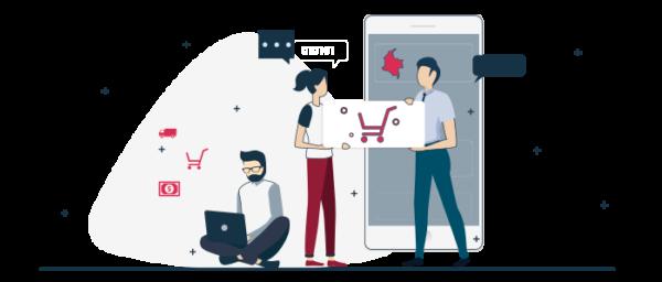 Logística de venta comercio electrónico
