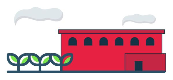 Ilustración de pymes que aplican la economía circular