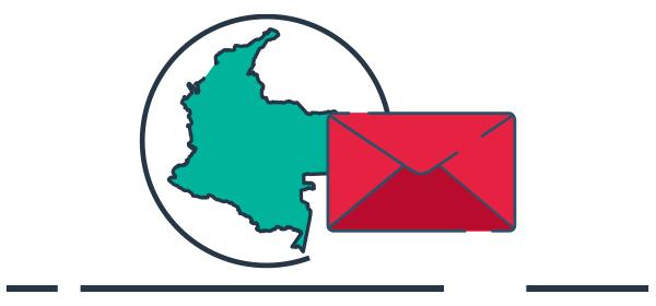 Ilustración logística envíos comercio transfronterizo