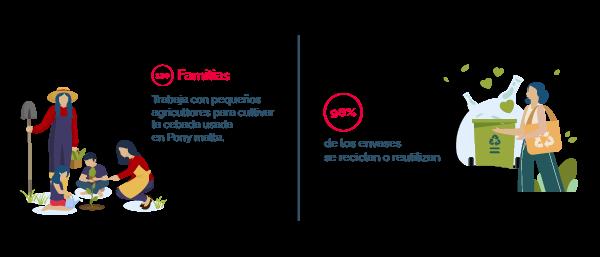 Futuras empresas sustentables y sostenibles.