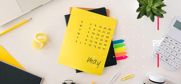 Planeador amarillo fechas comerciales Mayo