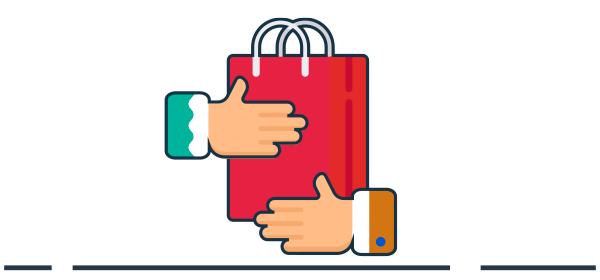 Ilustración como crear relación con el cliente
