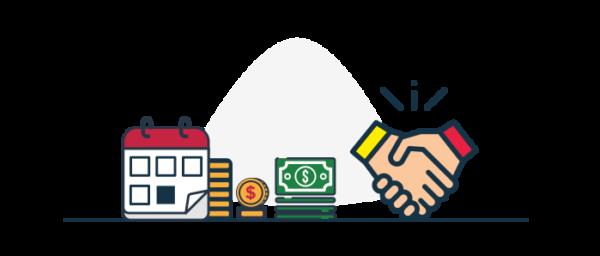 Facilidad y variedad de formas de pago de cartera