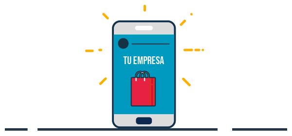 Ilustración de Instragram Stories en un celular