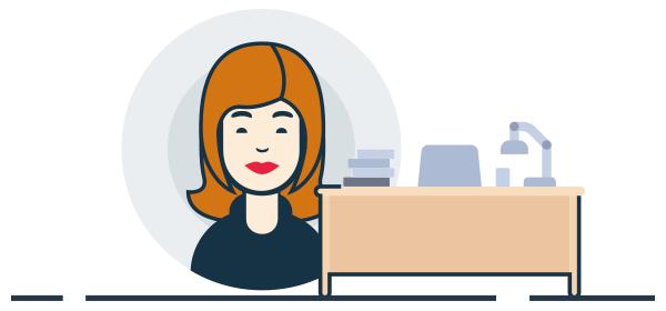 Ilustración mujeres empresarias