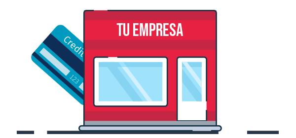 Ilustración de pagos electrónicos para empresas
