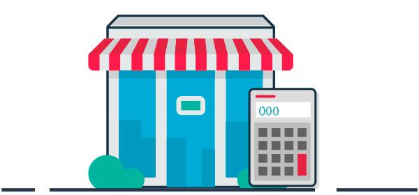 Ilustración liquidez para locales